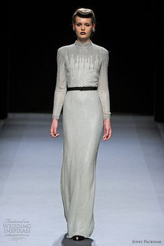 jenny packham fall/winter 2012-13; simple elegance