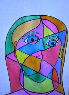 MaryMaking: Picasso Inspired Portraits