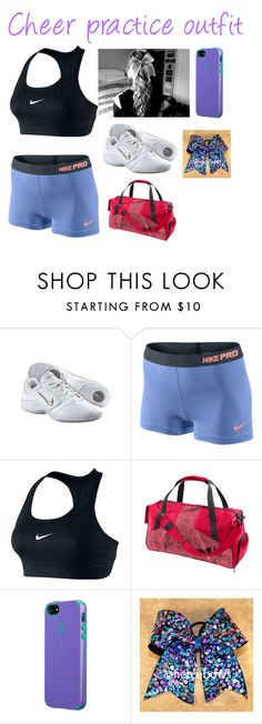 Designer Clothes, Shoes & Bags for Women Cheer Practice Outfits, Cheer Outfits, Cheerleading Outfits, Nike Pro Outfit, Nike Outfits, Sport Outfits, Cheer Stuff, Accesorios Casual, Cute Outfits For School