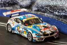 ManicSlots' slot cars and scenery: REVIEW: Scaleauto BMW Z4 Super GT