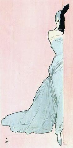 New look - призрак La Belle Époque: иллюстрации Рене Гюро ~ LCD без чая