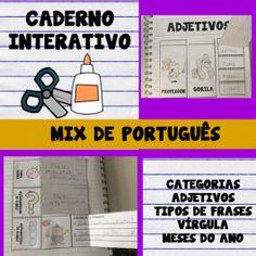 código 605- Caderno interativo- Mix de português