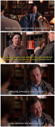 "9x23 Do You Believe In Miracles - ""Winning a People's Choice Award?  Not quite the real deal, now is it?"" - Metatron, Supernatural - I laughed each time this came up (had internet issues at first lol) Hey now, Metatron!  We voted a lot for those awards!."