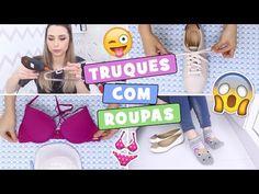 DICAS INCRÍVEIS USANDO SUTIÃ #2 | Papo Calcinha - YouTube