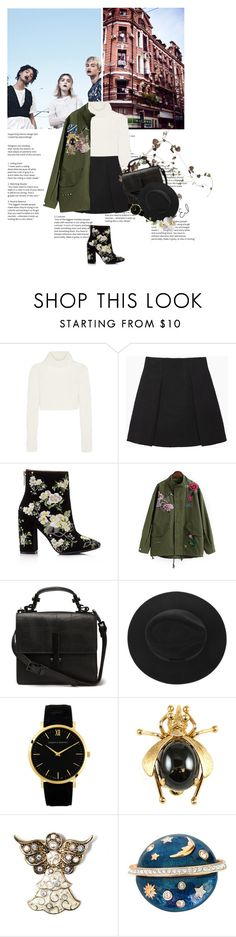 """""""Just another day.."""" by abella07 ❤ liked on Polyvore featuring Roberto Cavalli, Proenza Schouler, Miss Selfridge, Mixit, Swarovski and Vintage"""