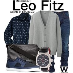Inspired by Iain De Caestecker as Leo Fitz on Agents of S.H.I.E.L.D.