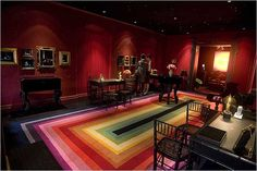 Solange Azagury-Partridge - Jewelry Store. Lovely carpet can also be used in homes :)