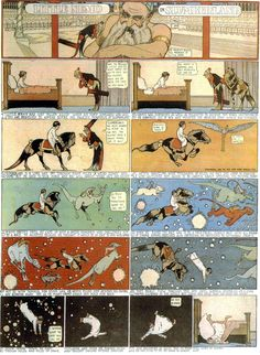 """Little Nemo Strip — Winsor McCay. One of my favorite """"Little Nemo"""" pages."""