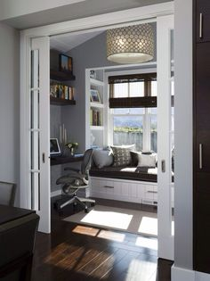 Office- dont know how much work would get done with a window seat there... But boy, does it look pretty.