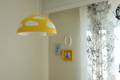 New Ikea lamp in our kidsroom