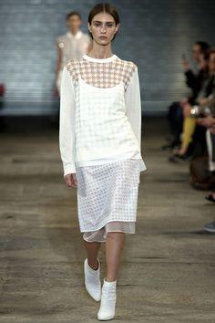 S/S14 London - Richard Nicoll #fashion #mode