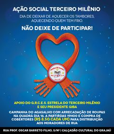 Samba School Third Millennium Star is winter clothing campaign, you will also participate