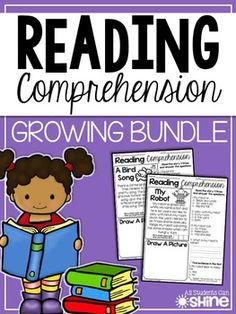 All Students Can Shine: Reading Fluency & Comprehension Reading Comprehension Passages, Comprehension Strategies, Reading Fluency, Reading Intervention, Reading Strategies, Reading Activities, Guided Reading, Teaching Reading, Teaching Tools