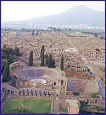 Destroyed by Vesusius in 79 AD, Pompeii and Herculaneum remained perfectly preserved, allowing us to understand the houses, monuments, objects and daily life of the Roman world. Ancient Pompeii, Pompeii And Herculaneum, Ancient Ruins, Ancient History, Historical Architecture, Ancient Architecture, Pompeii Pictures, Monuments, Pompeii Italy