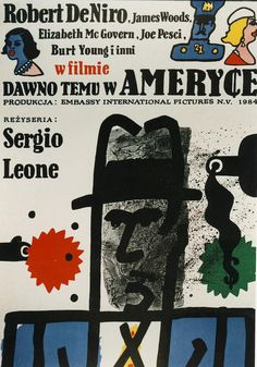 Polish film poster for Once Upon a Time in America