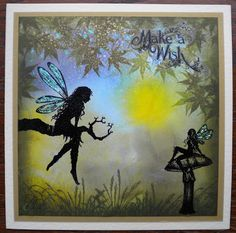 Beautiful design by Sue, love the dreamy background for the Lavinia Faeries.