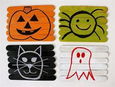 I Am Momma - Hear Me Roar: Feature Friday - Popsicle Stick Puzzles