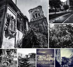 Mosaico urbano: 7 días en blanco y negro.