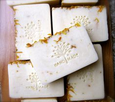 Calendula Flower Infused Olive Oil Soap