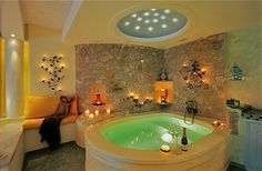 Hotels with jacuzzi or hot tub in room uk