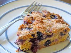 Blueberry Cream Cheese Coffee Cake by vanderbiltwife