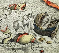 Map Monsters http://stores.ebay.com/SANDTIQUE-Rare-Prints