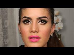 Tutorial: Delineado & PINK LIPS por Camila Coelho   Make-up Tutorial: Intense Black Eyeliner & Pink Lips by Camila Coelho (in Portuguese)