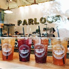 Parlour Vegan Bakery in Plantation & Boca Raton Florida offers Coffee Drinks, Daily Cupcakes, Donuts, and Empanadas with many gluten-free options