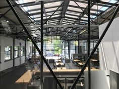 Coworking-Space, Meetings & More, Veranstaltungen Ebbtron in Solingen Coworking Space, Modern Office Design, Atrium, Big, Environment, Conference Room