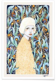 Emilia als Premium Poster door Sofia Bonati | JUNIQE