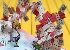 Alice's Adventures in Wonderland: A Pop-up Adaptation of the Lewis Carroll classic by pop-up book artist and paper engineer Robert Sabuda. . Little Simon; Pop edition, 2003 | Brain Pickings