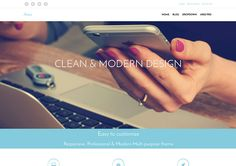 50 Clean And Minimalistic WordPress Themes