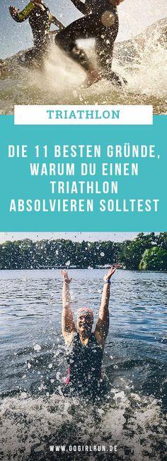 Nicht erst seit der Teilnahme an meinem ersten Triathlon im letzten Jahr, bin ich der Faszination Triathlon verfallen. Nein, die Kombination Schwimmen, Radfahren und Laufen hat mich schon lange gereizt und ich weiß, dass ich damit nicht alleine bin. Liebäugelst auch Du mit dem Mehrkampf? Hier kommen meine 12 Gründe, warum Du unbedingt einmal einen Triathlon absolvieren solltest! #triathlon #sport #tipps