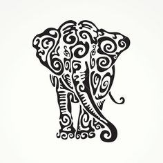 Tribal Elephant 08645