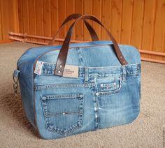 Купить Дорожная сумка - дорожная сумка, спортивная сумка, джинсовая сумка, женская сумка