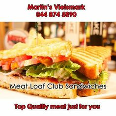 Try out this recipe for delicious meat loaf club sandwiches - for full recipe click here: http://on.fb.me/1j3i2u4. #meatloaf #sandwiches
