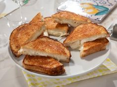 Get Lemon Grilled Cheese Recipe from Food Network