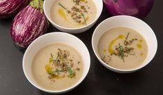 Smoky Eggplant Soup by David Tanis