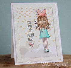 """SIMON SAYS STAMP FALLING FOR YOU RELEASE   """"YOU HAVE THE BIGGEST HEART"""" CARD (VIDEO)"""