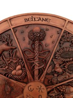 Wheel Of The Year Plaque - Beltane