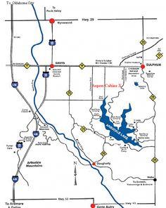 Falls Creek Oklahoma Map.11 Best Falls Creek Images Falls Creek Oklahoma National Parks