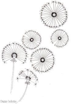 Des pois, des fleurs... et des pissenlits - Argile & Barbotine