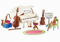Musikzimmer - 6458 - PLAYMOBIL® Deutschland