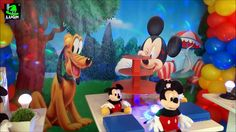 Decoração infantil Mickey Mouse provençal simples