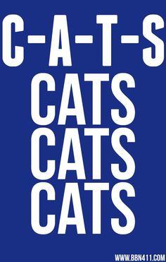 C-A-T-S Cats, cats, cats!  BBN | Kentucky Wildcats | Go big blue | Kentucky basketball
