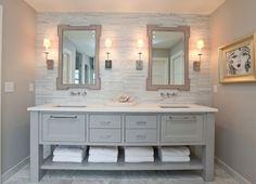 Marble bathroom vanity countertops elegant bathroom decor stylish bathroom designs with cultured marble countertops Grey Bathroom Vanity, White Bathroom Decor, Rustic Bathroom Vanities, Bathroom Vanity Cabinets, Bathroom Countertops, Grey Bathrooms, Simple Bathroom, Beautiful Bathrooms, Modern Bathroom