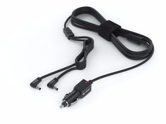 Pwr+ 11 Ft Car Charger for Sylvania Dual Screen Portable DVD Player Dc Auto Adapter Power Supply Cord. POWER SPECS : Output: 12V. FEATURES: Power device and charge battery from 12V DC outlets (car / air / boat) / Cord Length Is Extended to 11 Ft (Competitor's Products are 7-8 Ft)! / Steel-Reinforced Tip for Extended Usability / Made in Taiwan. ABOUT PWR+: Powering Millions of Laptops, Tablets and Electronic Gadgets and a go-to brand for premium replacement chargers and accessories since...