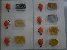 HMAT - poznávání materiálu v balonku Pre K Activities, Science For Kids, Sensory Play, Kindergarten, School, Ps, Projects, Food, Carnival