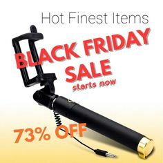 BLACK FRIDAY SALE is now on, check out http://www.amazon.com/gp/aw/d/B00ZDQFIY4 to save 74% on your Pull Out The Stick selfie stick
