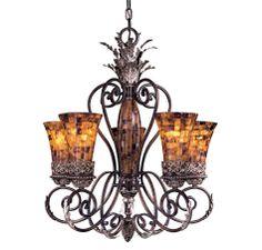 Metropolitan Salamanca Collection 5-Lt Chandelier in Ceiling Lights, Chandeliers, Indoor Chandeliers: ProgressiveLighting.com